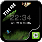 GO Locker Aquarium Theme