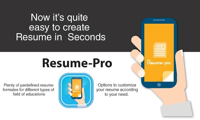 Super Resume Pro - screenshot