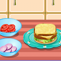 Hamburger Cooking Game icon