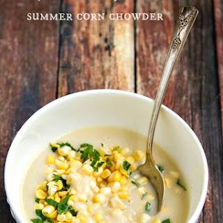 Creamy Summer Corn & Potato Chowder