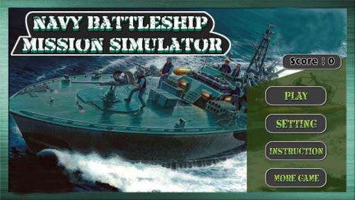 Navy Battleship Simulator