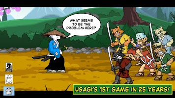 Screenshot of Usagi Yojimbo:Way of the Ronin