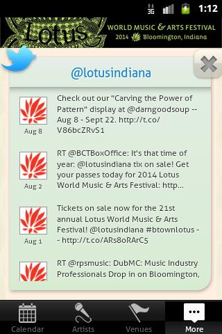 Bloomington Lotus Festival - screenshot