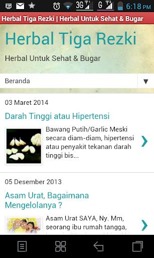 Herbal Untuk Sehat dan Bugar