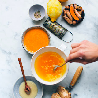 Ginger Turmeric Honey Bomb