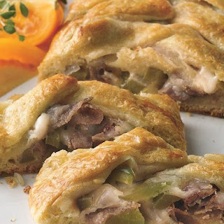 Cheesesteak Crescent Braids.