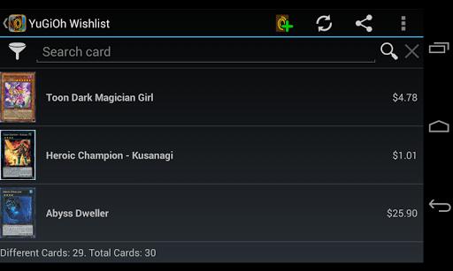 Wishlist for YuGiOh! Pro  PC u7528 7
