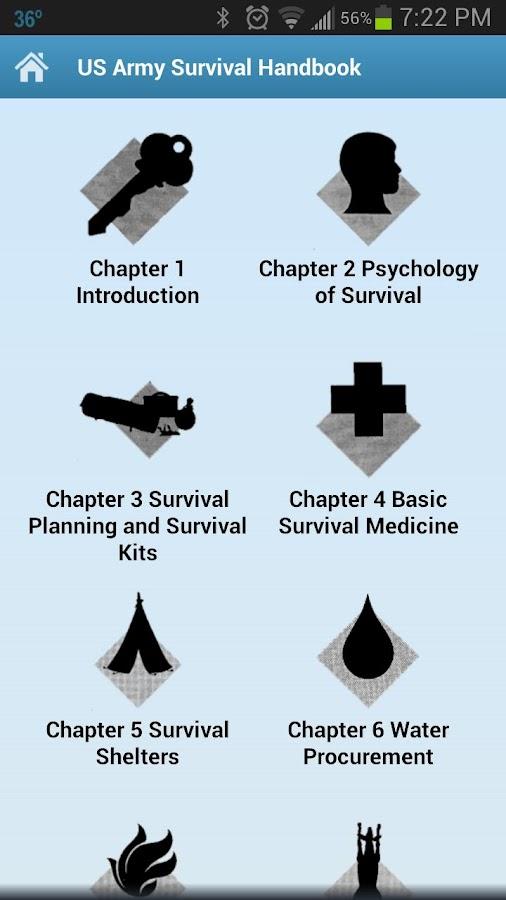 Survival Handbook - screenshot