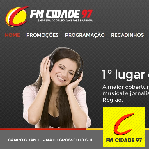 Rádio Cidade Fm 97,9 LOGO-APP點子