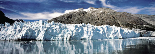 glaciers-Glacier-Bay-Alaska - Glaciers flank the bays of Glacier Bay National Park in Alaska.