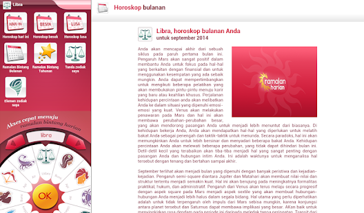 Ramalan Harian- gambar mini screenshot
