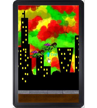 Puffy Dragon- screenshot