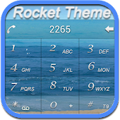 RocketDial SeaShore Theme (HD)