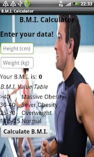 B.M.I. Calculator