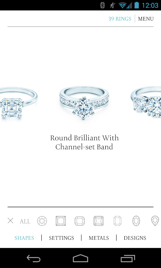 find your perfect engagement ring with the tiffany co engagement ring ...