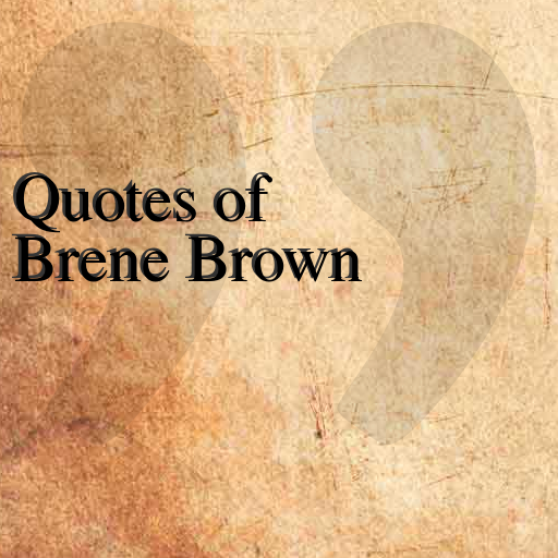 Quotes of Brene Brown LOGO-APP點子