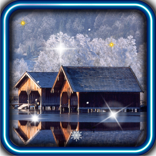 Winter Snow Nature HD LWP LOGO-APP點子
