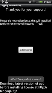 Logging TestApp Pro Key - ROOT- screenshot thumbnail