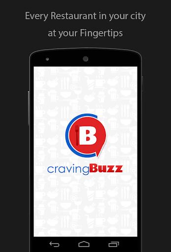 Craving Buzz–Restaurant Finder