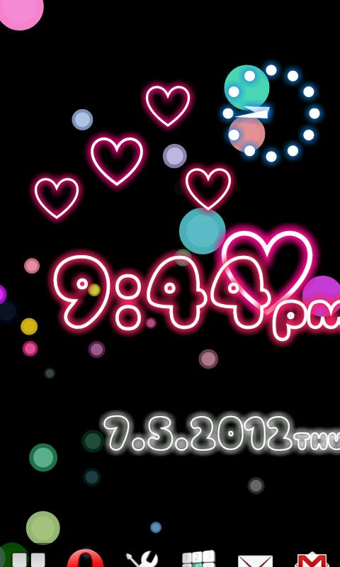 Neon Flow! Live Wallpaper - screenshot