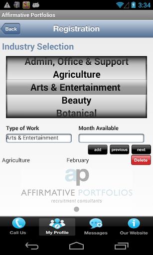 Affirmative Portfolios 1.2 screenshots 4