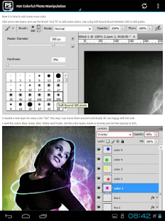 Free Tutorials For Photoshop- screenshot thumbnail