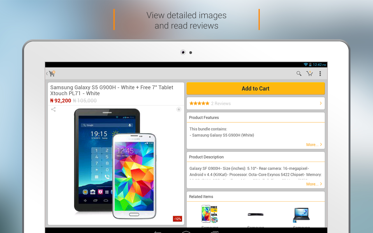 JUMIA Online shopping- screenshot