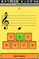 Screenshot of Learn Music Notes