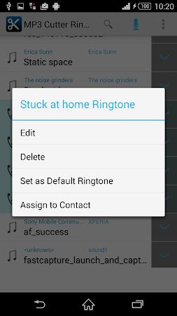 MP3 Cutter Ringtone Maker Free 5 screenshot 44680