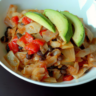 Mexican Cabbage Stir Fry.