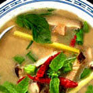 Thai Chicken Soup with Coconut Milk (Tom Ka Gai)