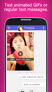 GIF Chat - screenshot thumbnail