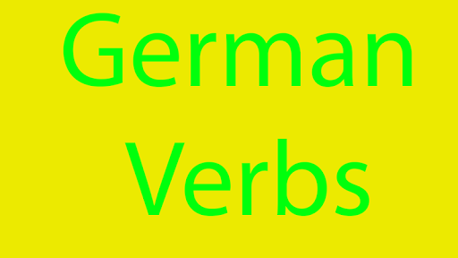 German Verbs
