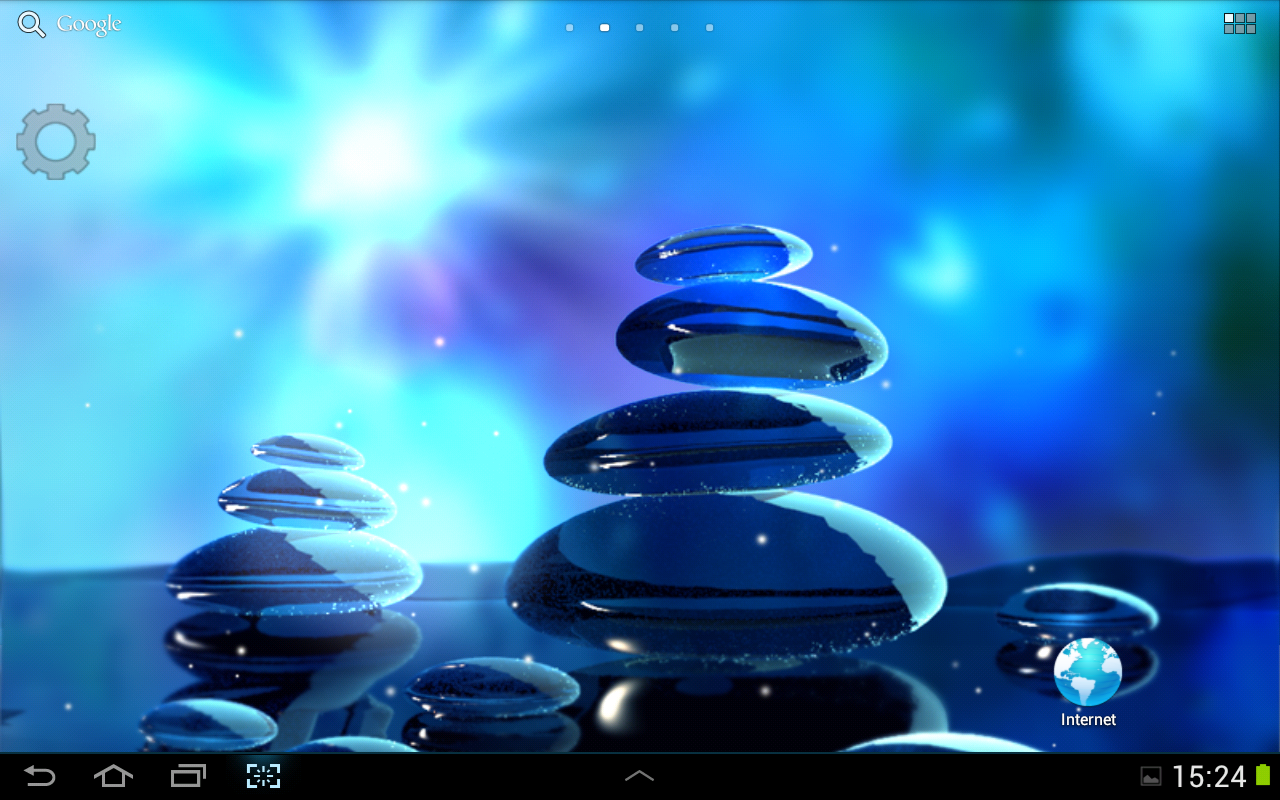 Blue Stones Live Wallpaper Android Apps On Google Play
