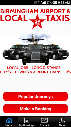 Birmingham Airport Local Taxis
