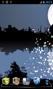 Fireflies Free Live Wallpaper- screenshot thumbnail