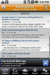KnoxVegasVols - screenshot thumbnail