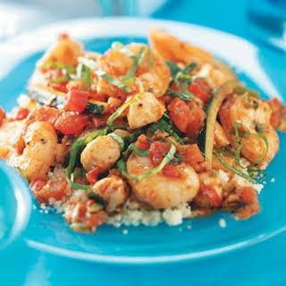 Shrimp and Scallop Couscous.