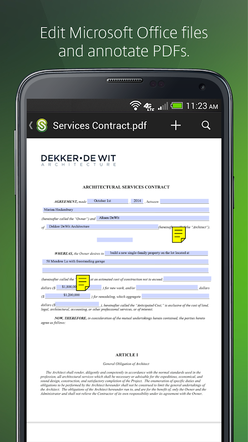 Citrix ShareFile Mobile- screenshot