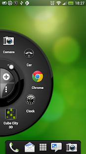 Wheel Launcher Lite side panel- screenshot thumbnail