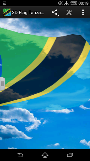 3D Flag Tanzania LWP