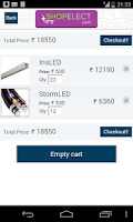 Screenshot of ShopElect