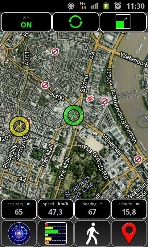AndroiTS GPS Test Free - screenshot