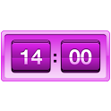 Retro Violet Clock icon