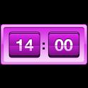 Retro Violet Clock icon
