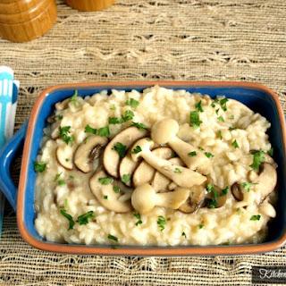 Parmesan and Mushroom Risotto