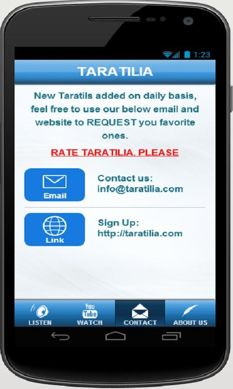 TARATILIA- screenshot