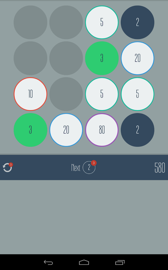 Fives - Match Twos and Threes! - screenshot