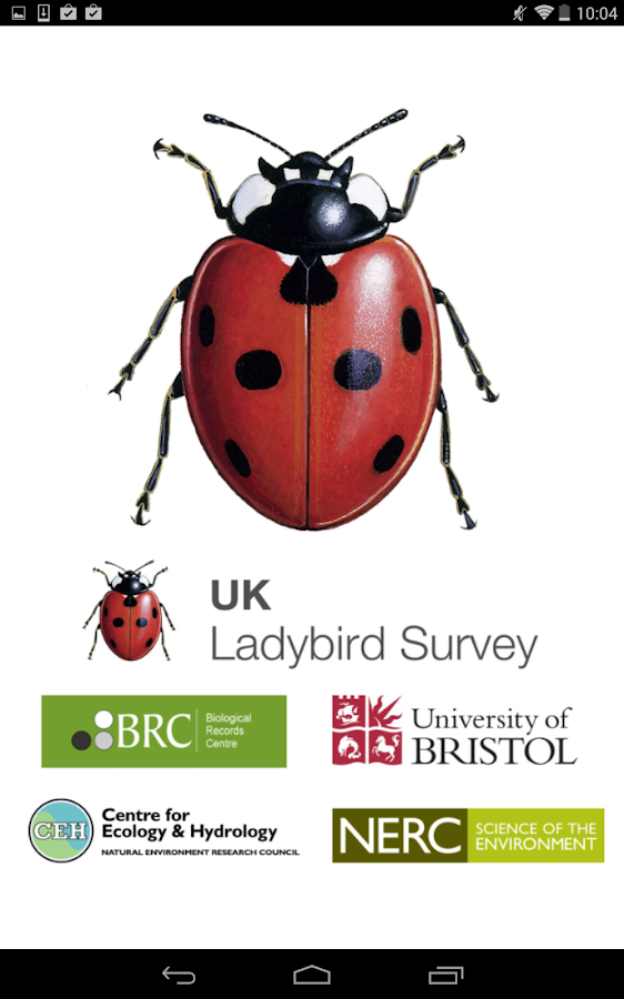 iRecord Ladybirds- screenshot