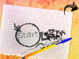 Screenshot of Puzzle-like Crayon Physics